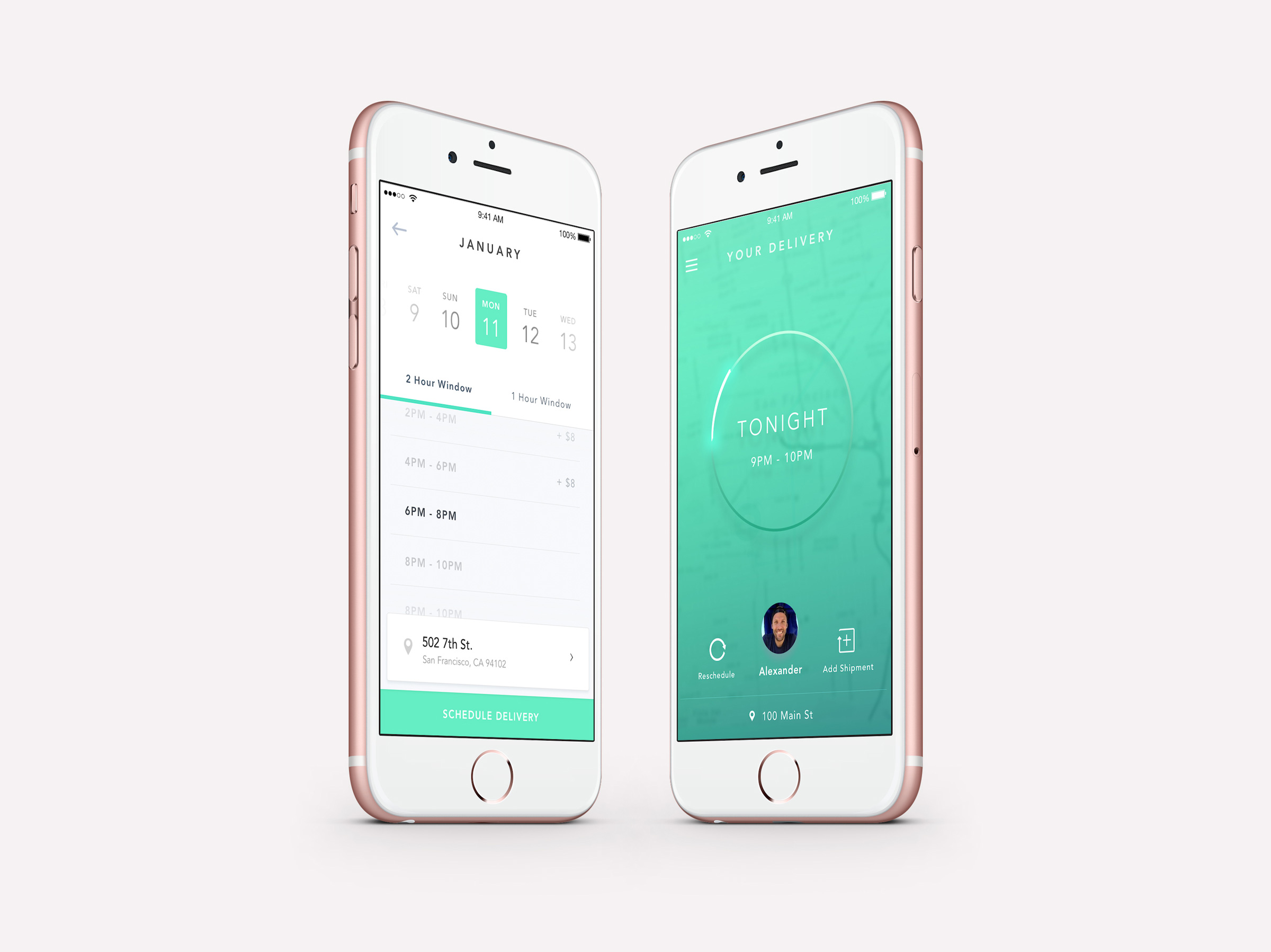 Product Design Doorman Mobile iOS App Preview by Zach Krasner